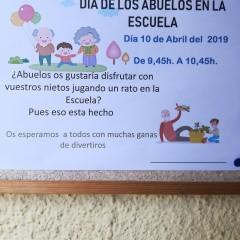 LOS ABUELITOS VIENE A LA ESCUELA