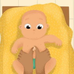 Taller de masaje para los mas peques