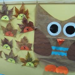 En el aula de las hormigas hemos terminado nuestro proyecto del «OTOÑO»